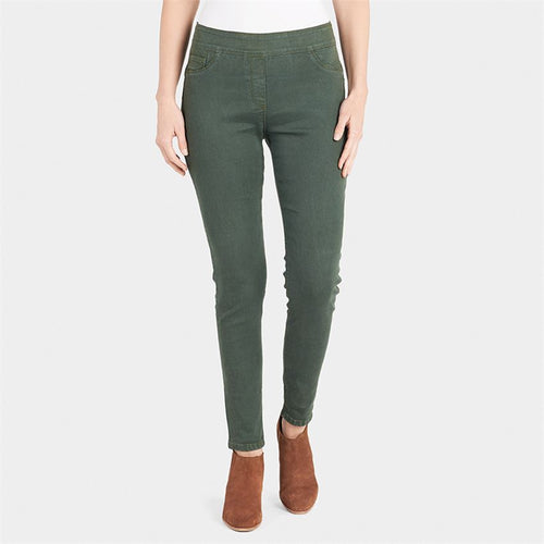 OMG Thyme Colored Skinny Jeans