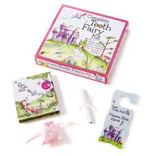 Pink Tooth Fairy Kit