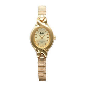 Women's C-Ring Twist-O-Flex Watch, Gold Tone