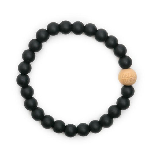 Black Bella Tunno Teething Bracelet