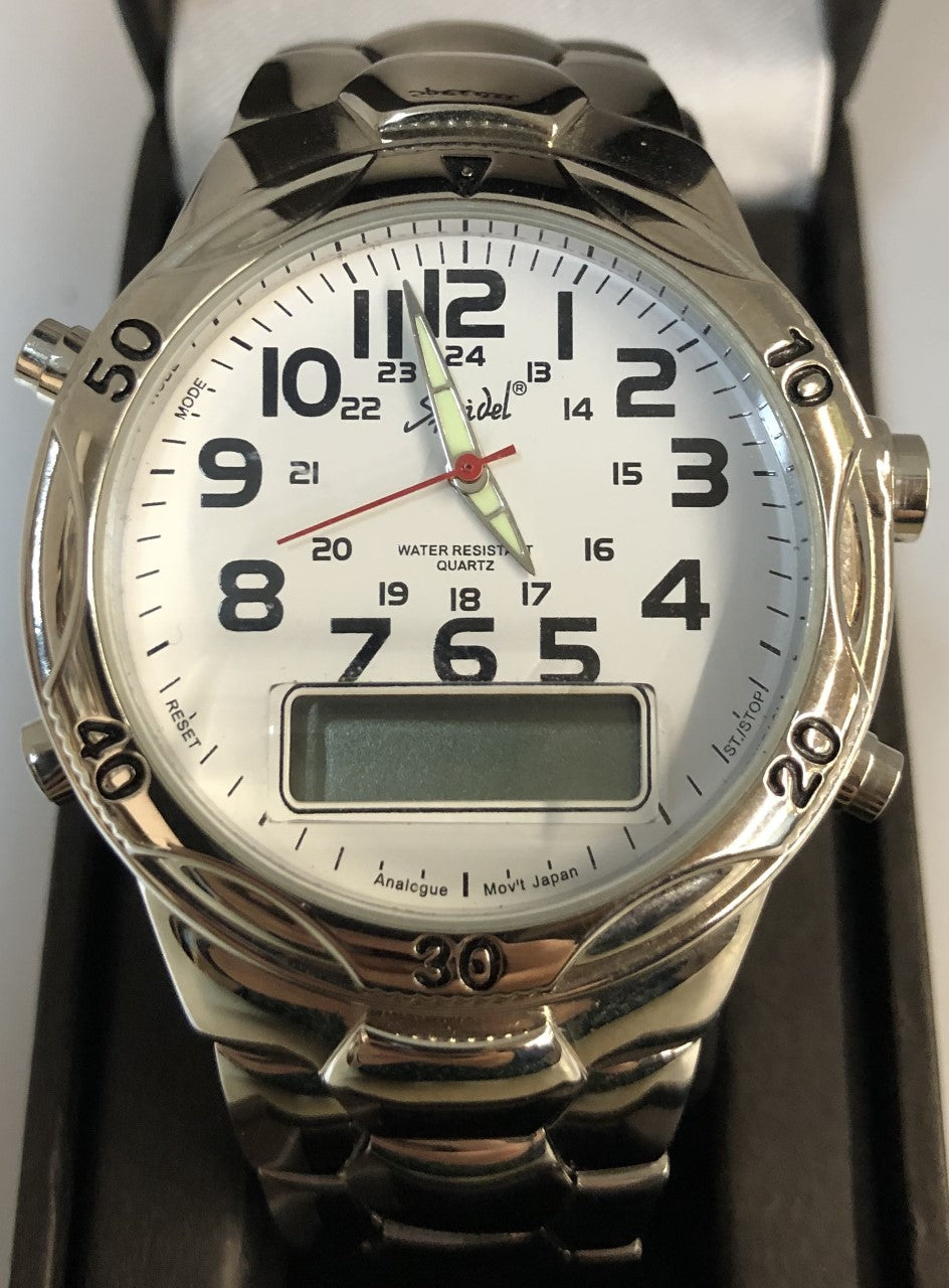 Silver Analog Watch Model 333500