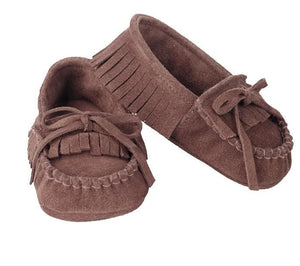 Baby Moccasins (0-6 Months)