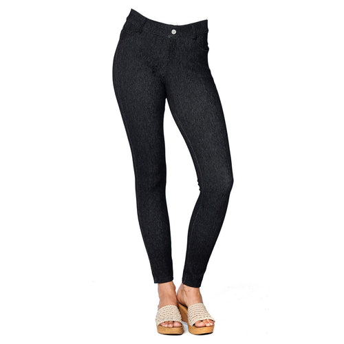 Black Soft Knit Jeggings