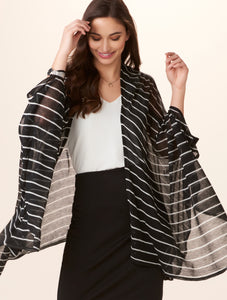Stripe Cape, 2 Asst.
