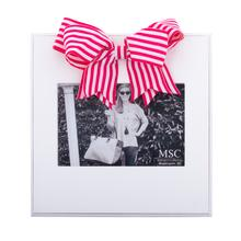 Load image into Gallery viewer, Stripe Ribbon Bow Frame, 7 Asst.
