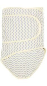 Miracle Blanket Swaddle in Yellow Chevron