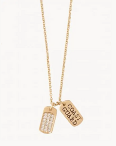 Sea La Vie Mermaids for Military Coast Guard Necklace