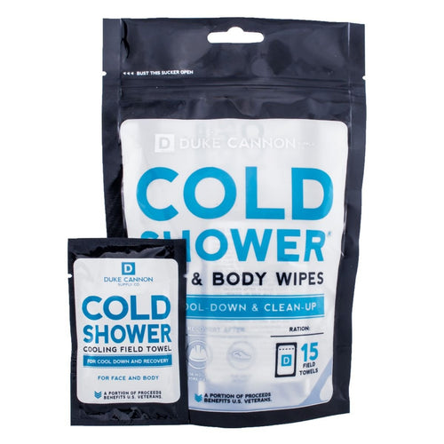 Cold Shower Face And Body Wipes