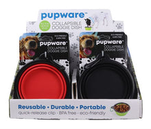 Load image into Gallery viewer, Collapsible Silicone Dog Bowl, 4 Asst.