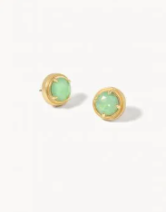 Crema Stud Earrings, 2 Asst.