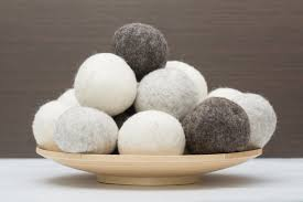Wool Dryer Balls - Set of Three