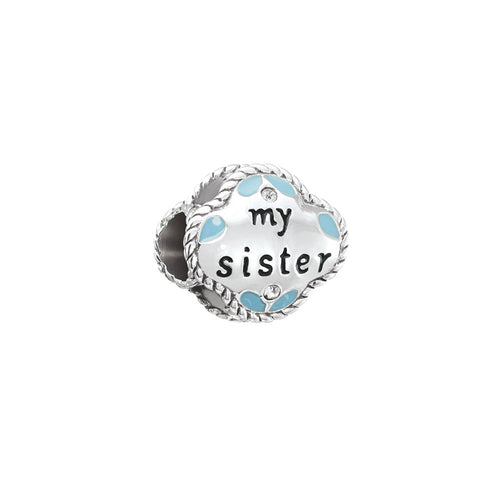 My Sister My Friend Charm