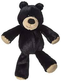 Marshmallow Black Bear Stuffed Animal