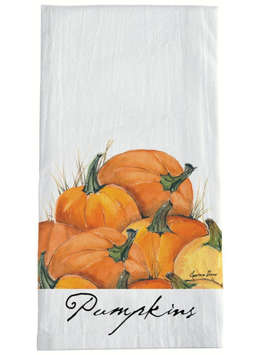 Pumpkin Tea Towels