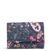 Load image into Gallery viewer, Felicity Paisley Riley Compact Wallet