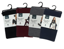 Load image into Gallery viewer, Fleece-Lined Athletic Leggings, 4 Asst.