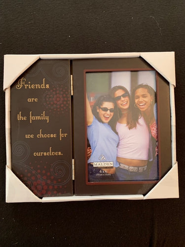 Friends are the Family Frame, 4 X 6