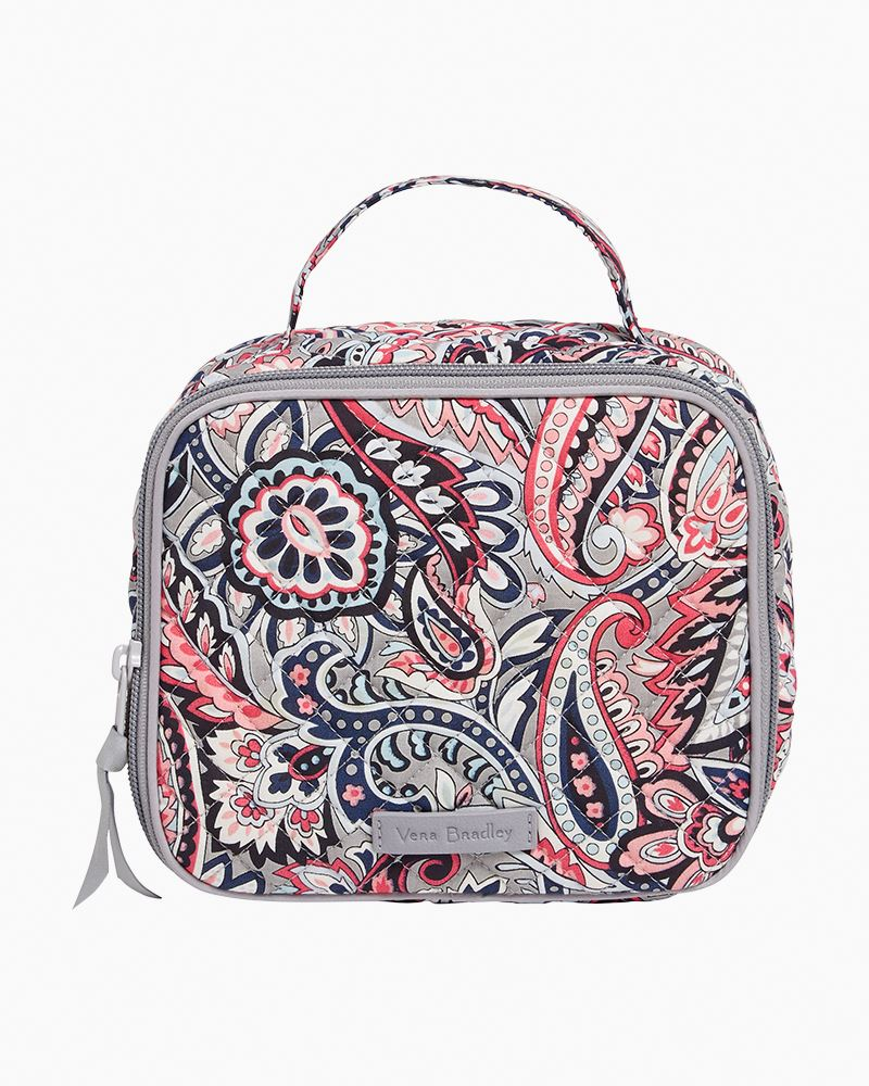 Vera Bradley Gramercy Paisley Iconic Pack and Snack