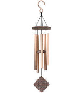 Gregorian Chant Medallion Copper Wind Chime