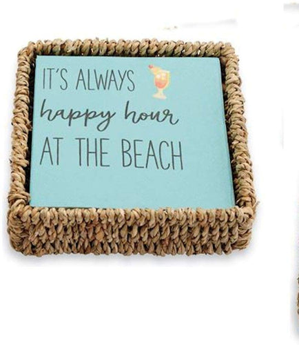 Always Happy Basket Napkin Set