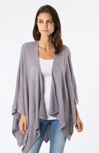 Heathered Bordeaux Cardi Wrap Neutral, 5 Asst.