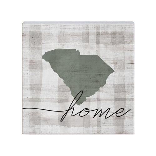 Home State Plaid SC