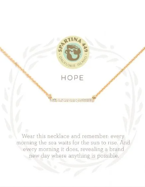 Sea La Vie Hope Necklace
