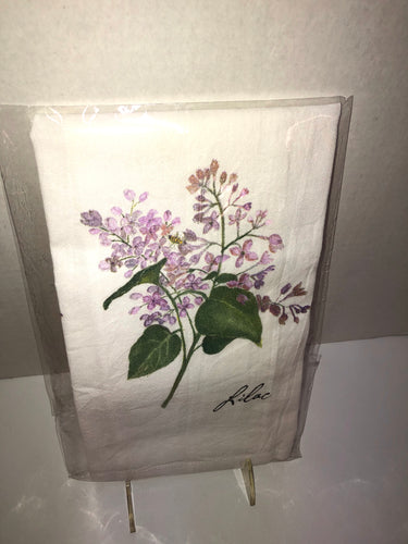 LILAC FLOWER SAC TOWEL