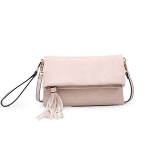 Austin Crossbody in Light Pink