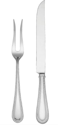 Lyndon Stainless Steel 2-Piece Carving Set