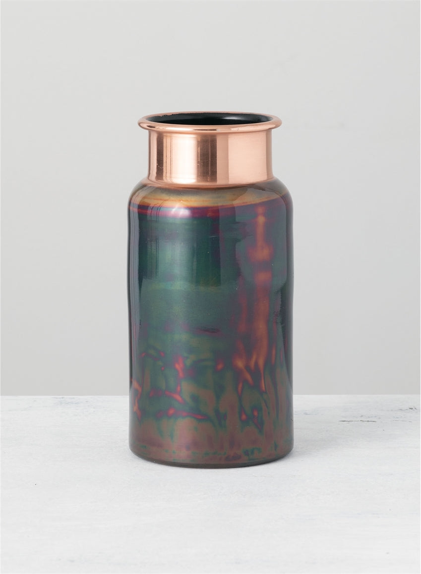 Copper Colored vase