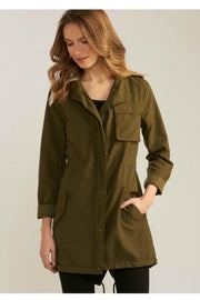 Military-Style Lightweight Jacket