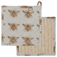 Load image into Gallery viewer, Honey Bee Trivet, 2 Asst.