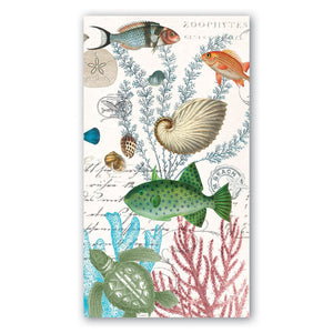 Sea Life Hostess Napkins - 15 Count
