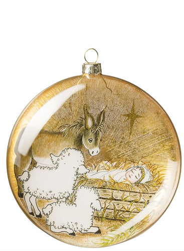 Manger Scene Ornament