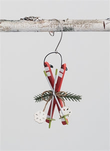 Skis Ornament