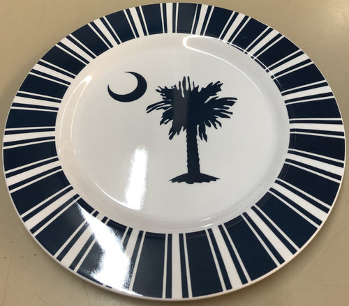 Melamine Palmetto Moon Large Plate