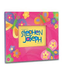 Stephen Joseph Butterfly Picture Frame