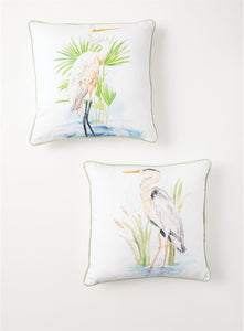Shorebird Pillow 2 Asst