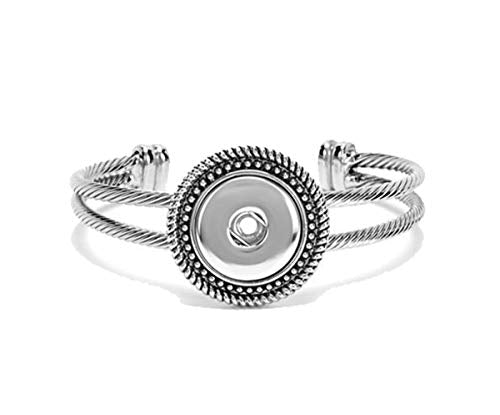 Ginger Snaps 1-Snap Rope Open Bangle