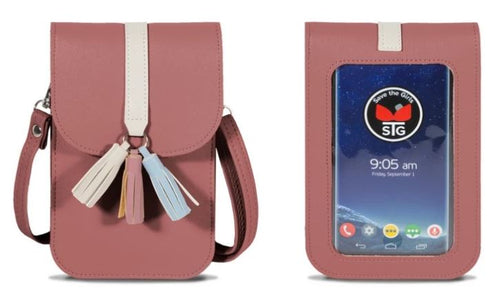Touch Screen Purse, 5 Asst.