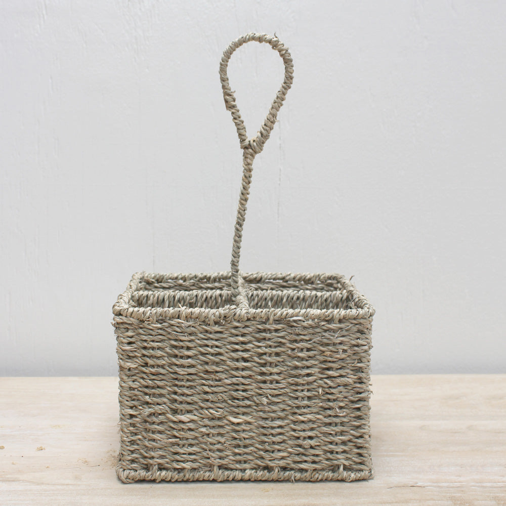 Seagrass Flatware Caddy