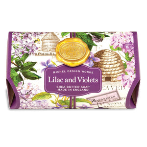 Lilac and Violet Shea Butter Soap