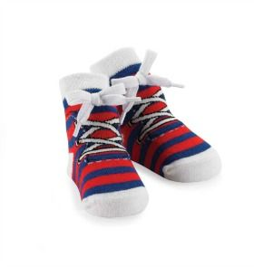 Baby Red Sneaker Socks