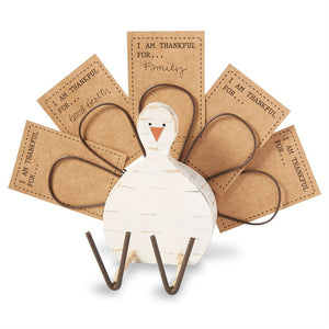 Thankful Turkey Card Holder