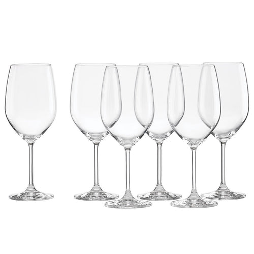 Tuscany White Wine Glasses, Set of 6
