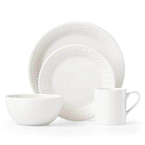 Kate Spade Willow Drive - Cream 4 Piece Place Setting