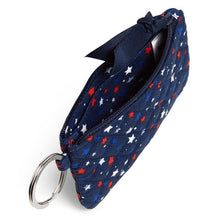 Load image into Gallery viewer, Vera Bradley Zip ID Case Star Spangled