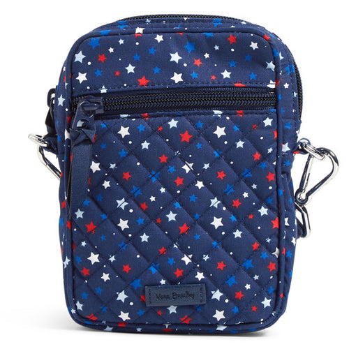 RFID Small Convertible Crossbody Star Spangled