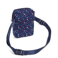 Load image into Gallery viewer, Vera Bradley RFID Small Convertible Crossbody Star Spangled